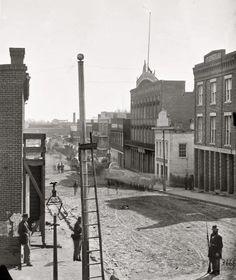 "1864. ""Atlanta, Georgia. View on Marietta Street."""