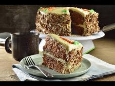 Carrot Cake with Cream Cheese Frosting - Frosting. Frosting Recipes, Cake Recipes, Dessert Recipes, Easy Cooking, Cooking Recipes, Cake With Cream Cheese, Apple Desserts, Piece Of Cakes, Carrot Cake