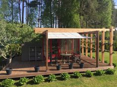 Tour a lovely garden container home with a surprisingly unique shower