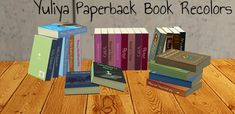 SelenaQ13, Yuliya Paperback Book Recolors - meshes included ...