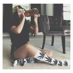 #40 #hux #beer #perfect #legs #huxsocks #marijuana