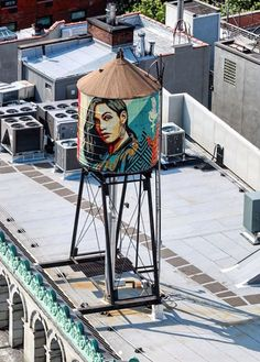 Shepard Fairey in NYC, 2019 Shepard Fairy, 3d Optical Illusions, Projection Mapping, Graffiti Art, Murals, York, City, Artist, Travel
