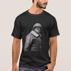 George Patton and quote - Black an... - T-Shirt - click to get yours right now!