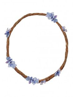 FORGET ME NOT Floral Crown Headband