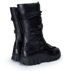 mag.nl/megamok-4013 Biker, Boots, Black, Fashion, Lush, Crotch Boots, Moda, Black People, Fashion Styles