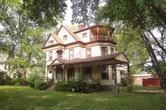 """4,000 square feet ~ 4 Bed, 2.5 Bath ~ 5 fireplaces ~ Hardwood floors ~ Walk-up attic ~ Full basement ~ 2 car attached garage ~ Property being sold """"as-is"""" and is subject to HUD Guidelines 24CFR 206.125 ~ No survey, no disclosures ~ Proof of funds or Pre-Approval required with all offers ~ Earnest money needs to be certified funds; made payable to Stuart M Kessler P.C. ~ Needs TLC"""