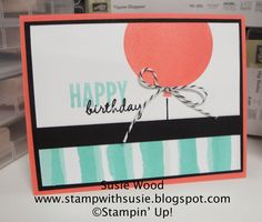 Stamp with Susie: An Occasions Sneak Peek!
