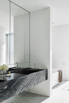 Australian Interior Design, Interior Design Awards, Bathroom Interior Design, Marble Interior, Interior Modern, Design Bedroom, Bathroom Designs, Kitchen Interior, Kitchen Design