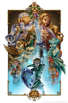 Legend of Zelda: Ocarina of Time - one of the greatest games ever made, with one of the greatest OSTs The Legend Of Zelda, Legend Of Zelda Breath, Bioshock, Gi Joe, Zelda Tattoo, Nintendo, Link Zelda, Video Game Art, Video Games