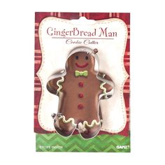 Merry Christmas! Cookie Cutter - Gingerbread Man