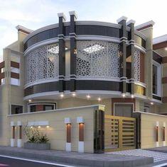 House Floor Design, House Main Gates Design, Modern Exterior House Designs, Bungalow House Design, Dream House Exterior, House Design Pictures, Modern Bungalow House, Classic House Design, Beautiful House Plans