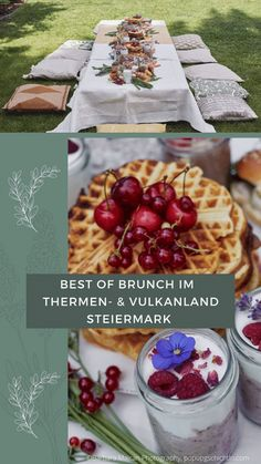 Am Wochenende perfekt in die Gänge kommen = BRUNCHEN mit euren Lieben! Wo das ganz wunderbar geht, verraten wir hier! 💚 Camembert Cheese, Food, Brunch Ideas, Meal, Food And Drinks, Food Food, Eten, Meals, Diet