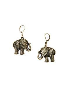 MANGO - NEU! - Elefanten-Ohrringe