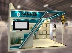 SANNER BOOTH by ADdiksi Kreatif Imagi at Coroflot.com
