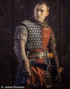 Jude Law in Henry V