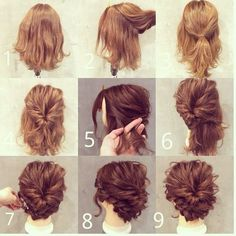 Homecoming Hairstyles For Short Hair - We have compiled homecoming hair styles that short hair style girls preferred most. With these hair styles you can