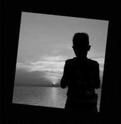 kispixfoto: Naplemente Silhouette