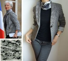 Hymne aux carrés: Style book #35: Inspired by Christine Lagarde