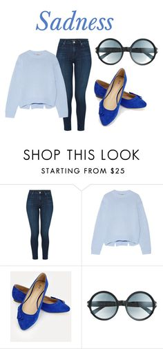 """""""Sadness"""" by riki-davis on Polyvore featuring J Brand, Acne Studios, JustFab and Tom Ford"""