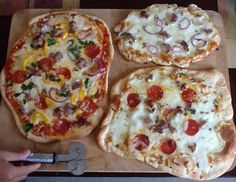 HOMEMADE - Pizza pizza !!! Fun afternoon for sure