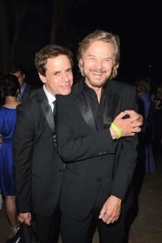 Christian LeBlanc and Stephen Nichols @Kay Woodis Emmys 2012