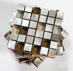 Mosaic Tile Coasters {Lowe's Creative Idea}