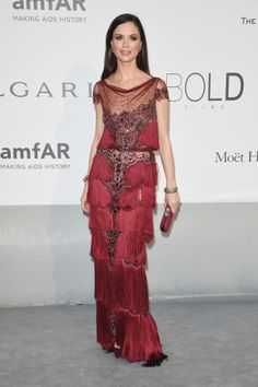 In love!!! what a dressssss!!! :O  See What Everyone Wore to the 2014 amFAR GALA