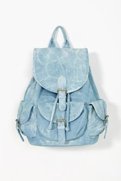 Nasty gal Denim Daze Backpack in Blue (denim) Denim Backpack, Denim Bag, Backpack Purse, Leather Backpack, Fashion Backpack, Mochila Jeans, Modern Backpack, Cute Asian Fashion, Cute Backpacks