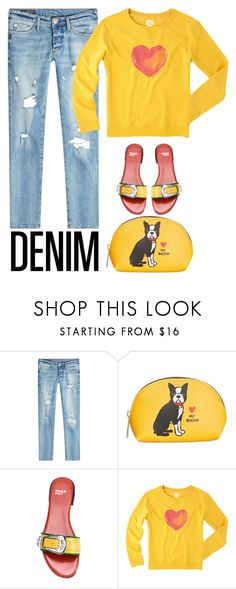 """""""Saturday Style"""" by youaresofashion ❤ liked on Polyvore featuring True Religion, Marc Tetro, Toga, Life is good and distresseddenim"""