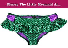 Disney The Little Mermaid Ariel Ruffled Swim Bottoms (X-Small). Go under the sea with these swim bottoms from Disney's The Little Mermaid with a design inspired by Ariel's fin. Want the matching swim pieces? Click below! Disney The Little Mermaid Ariel Costume Swim Top Disney The Little Mermaid Green Girls Swim Cover Up.