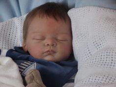 "MASON @Alexandra's Babies by Artist Alexandra Taylor-Hughes :: ""Linus"" Sculpt by Gudrun Legler (Photo 2)"