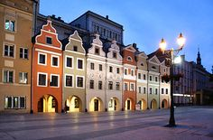 Legnica, Poland   Row houses!!!    You should have seen the hotel we stayed. Quite interesting!!  We did buy some jewelry here.  Money exchange was 1-7 last we visited.