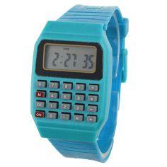 Kid's Calculator Watches //Price: $8.97 & FREE Shipping //     #watchnerd #watchgeek #wristshot