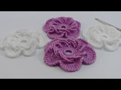 How to crochet easy warm skirt for beginners free tutorial pattern - Crochet Stash Buster Crochet Flower Tutorial, Crochet Diy, Freeform Crochet, Crochet Braids, Crochet Motif, Irish Crochet, Crochet Designs, Crochet Patterns, Knitted Flowers