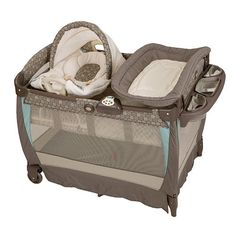 Graco Pack N Play With Cuddle Cove Lx Rocking Seat Play