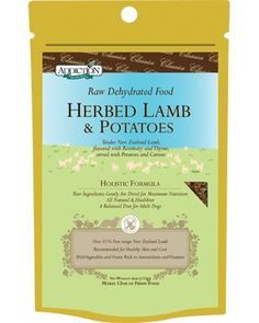 Addiction Raw Dehydrated Grain-Free Dog Food, Herbed Lamb & Potatoes, 4oz « dogsiteworld.com