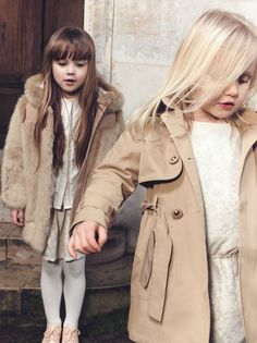 @chloefashion children's wear winter 2014 beige and ivory tones #beige #kidsfashion #chloe #fallwinter2014 #FW14 #children #kids #childrenwear #kidswear #kidsfashiontrends #girls #boys