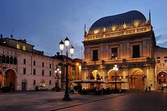 Brescia, where I am from..
