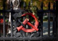 Symboles du communisme : le faucille et le marteau. / Kazakhstan. / By Eric Lafforgue.