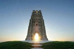 Glastonbury Tor , Somerset, England
