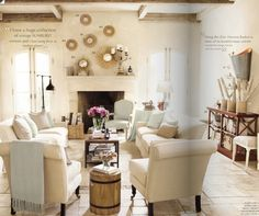 Rustic Contemporary Living Room Ideas | ... : White Sleek Rustic Modern Homes With Comfortable Living Room Ideas