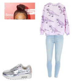 """""""Untitled #211"""" by empryssclement ❤ liked on Polyvore featuring NIKE and Paige Denim"""