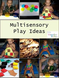 Touch, Listen & Look! Engaging Babies in Multisensory Play