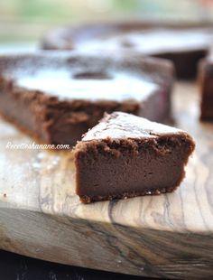 Fondant au chocolat et à la ricotta sans farine