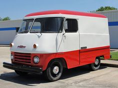 Chevrolet - Series 3000 Forward Control / Step-Van '58 (Commercial vehicles) - history, photos, PDF broshures