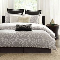 Landau King Comforter Set.