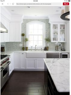 15 best pictures of white kitchens with granite countertops | http