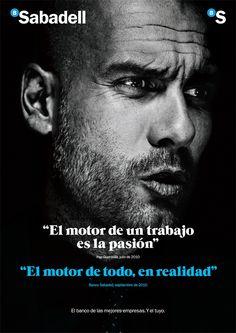 """""""El motor de todo es la pasión"""" #Guardiola"""