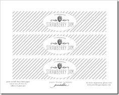 raspberry jam {tutorial   printable labels}