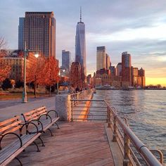 hudson river walk by alexandrabloom - New York City Feelings